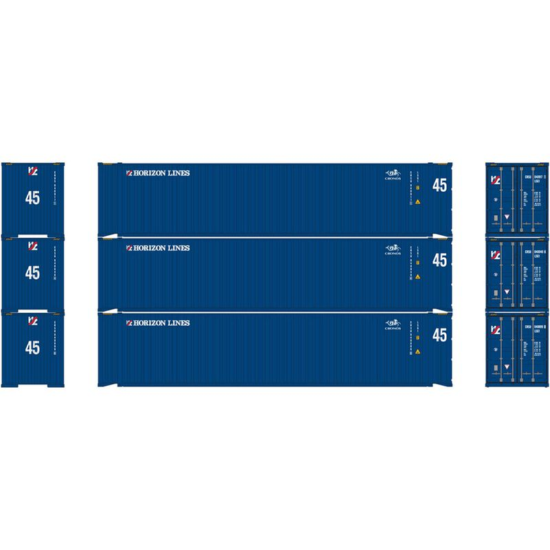 HO RTR 45' Container Horizon Lines Cronos (3)