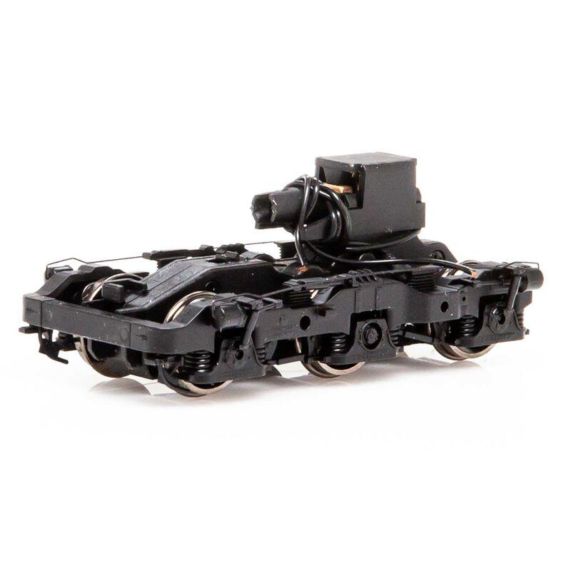 HO Power Truck Black with -HI-AD Assy ES44 GEVO (4)