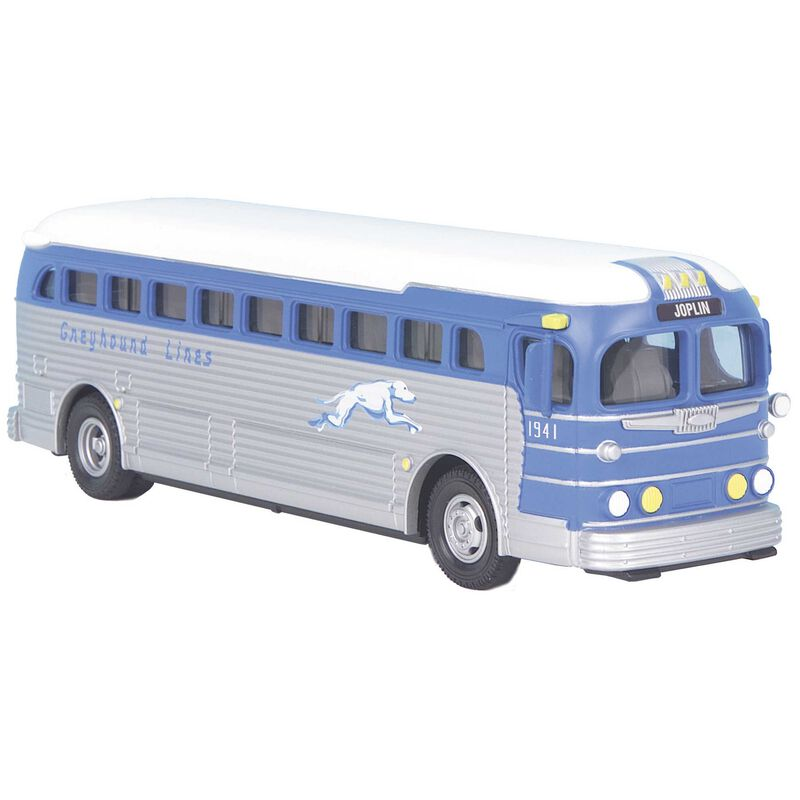 Greyhound Die-Cast Bus
