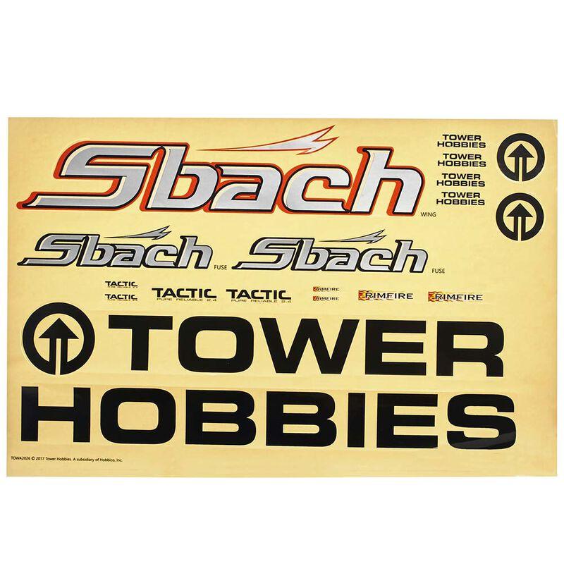 Decals Sbach EP ARF