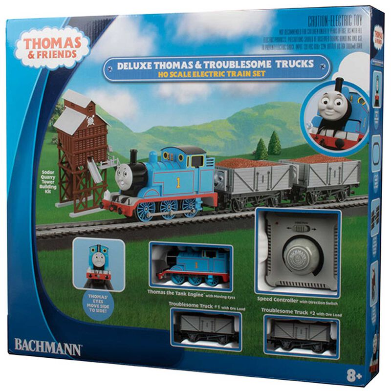 HO DLX THOMAS & THE TROUBLESOME TRUCKS FREIGHT SET