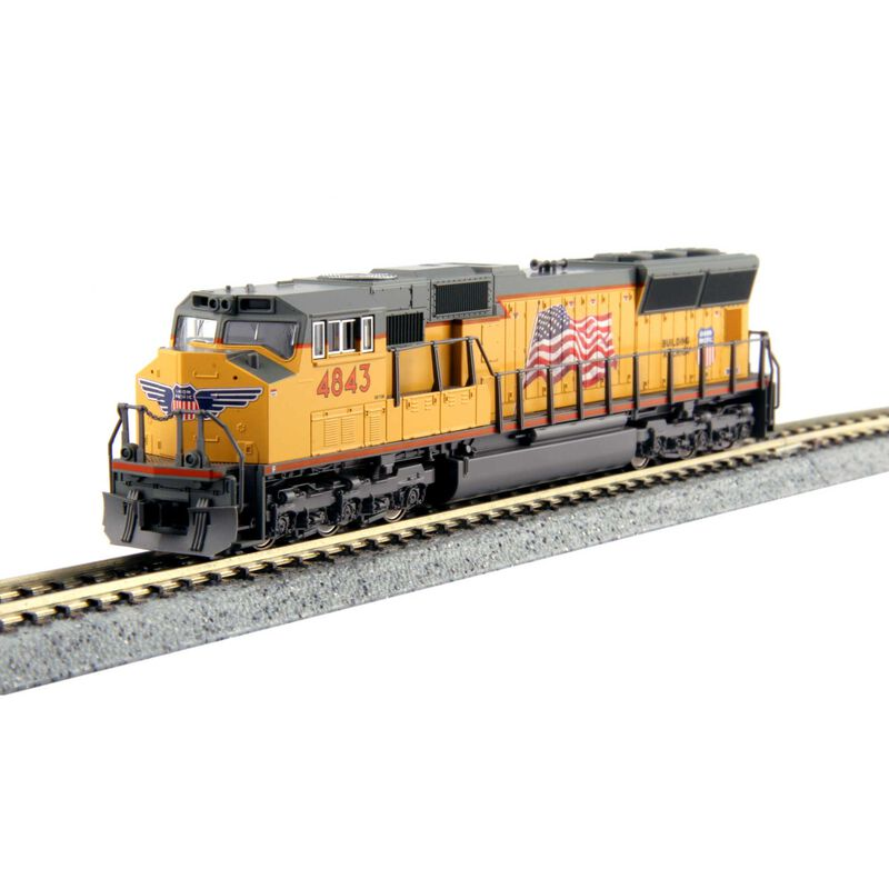N SD70M w DCC UP #4843