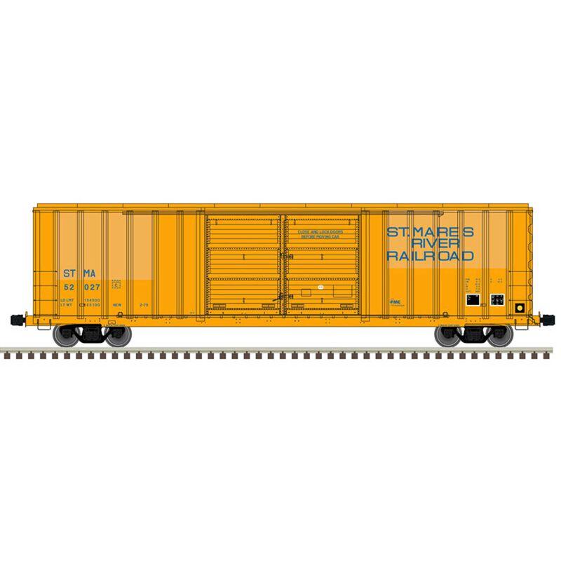 HO FMC 5503 Box Car St. Maries River Road 52027