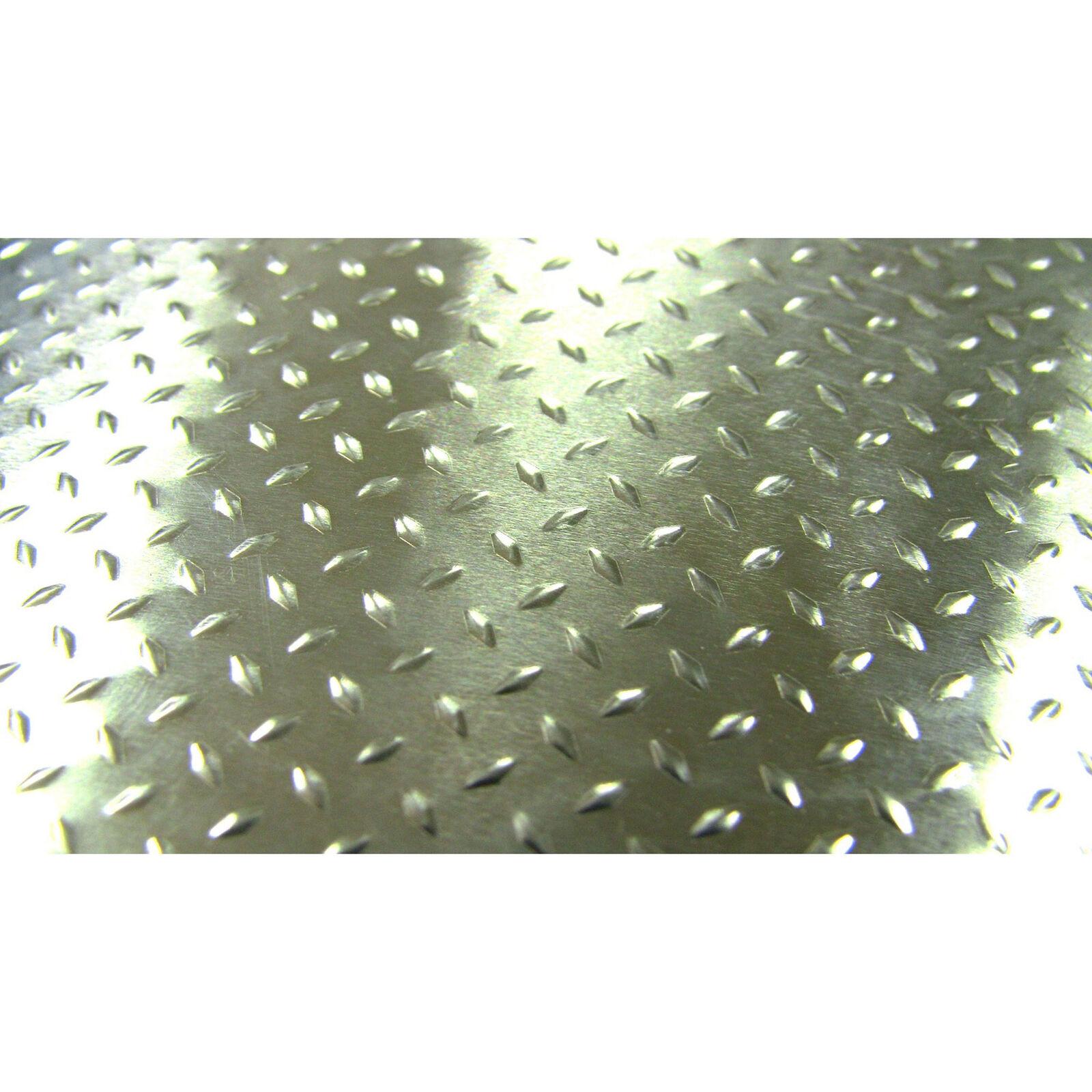 1/10 Scale Aluminum Silver Diamond Plate (2)