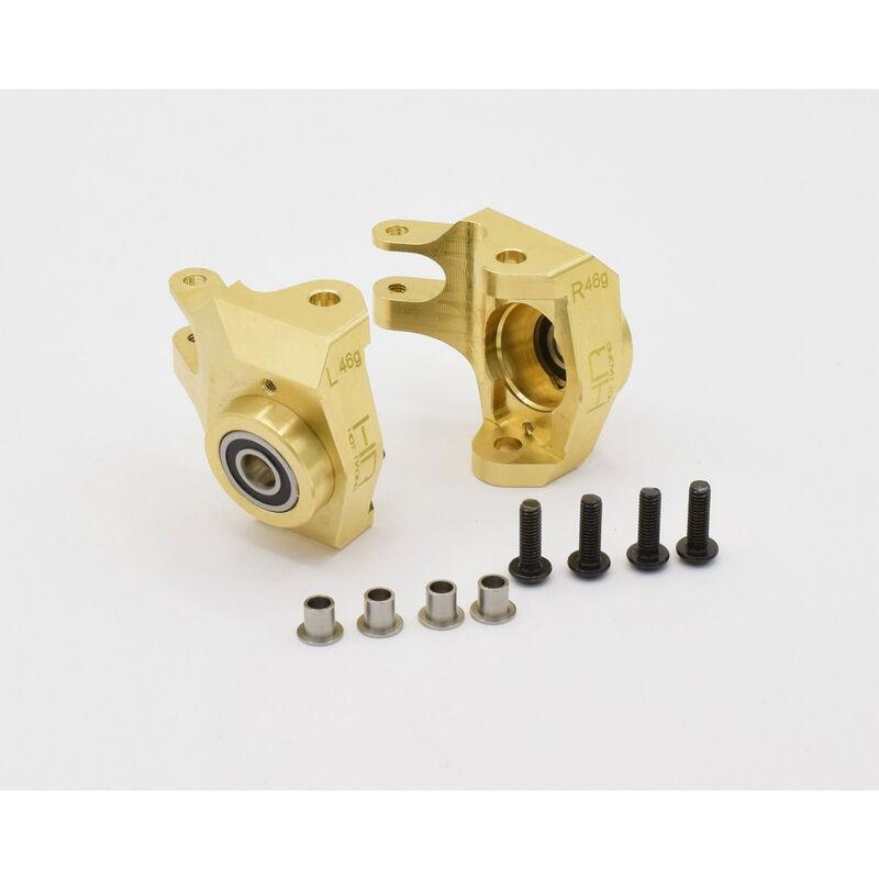 Brass Heavy Metal HD Bearing Front Knuckle: Scx Ii