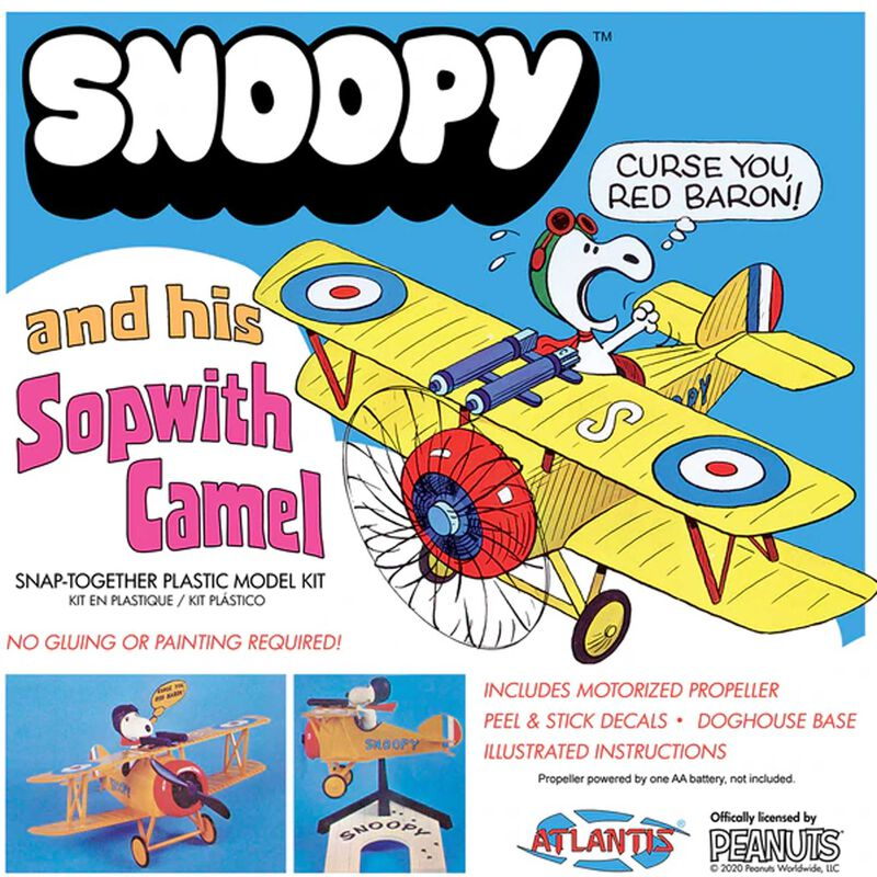 Snoopy and His Sopwith Camel Snap Kit