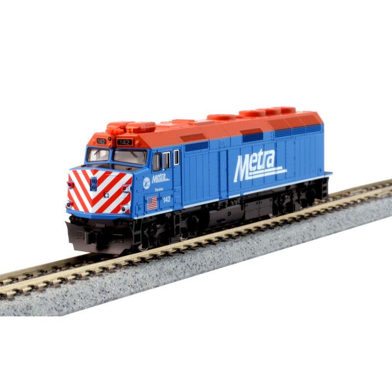 N F40PH w DCC Metra Blue Ravinia #142