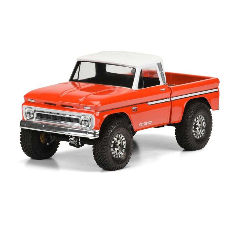 Clear Body, 1966 Chevy C-10  with 12.3 Wheelbase: 1/10 Trail Honcho