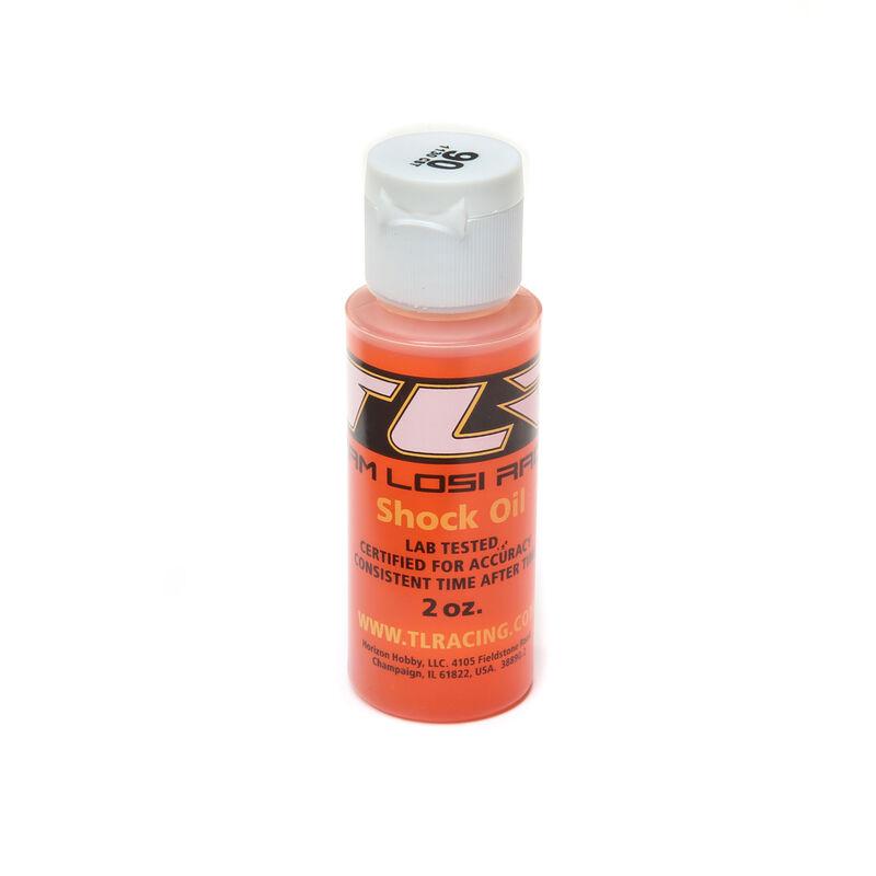 Silicone Shock Oil, 90wt, 2oz