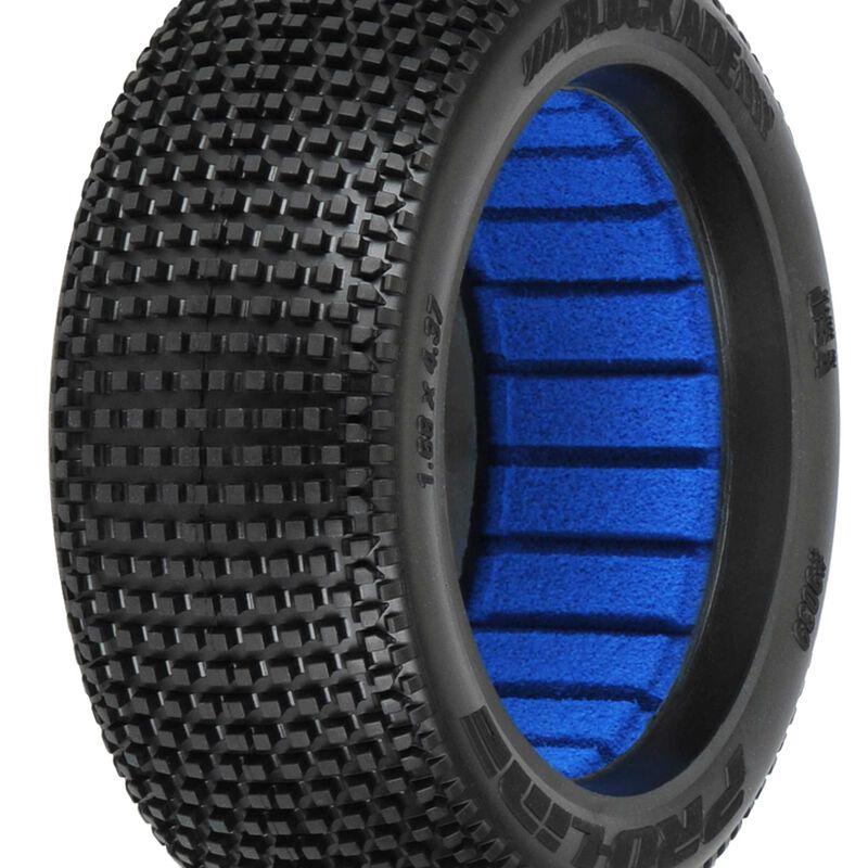 Blockade S4 1/8 Buggy Tires, F/R (2)