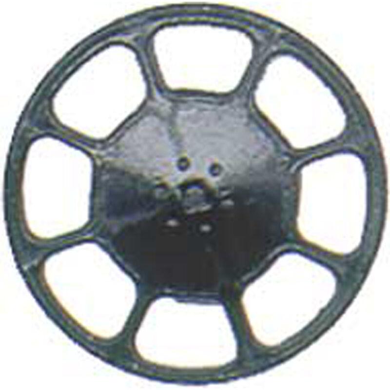 HO Brake Wheel, Modern/Black (8)