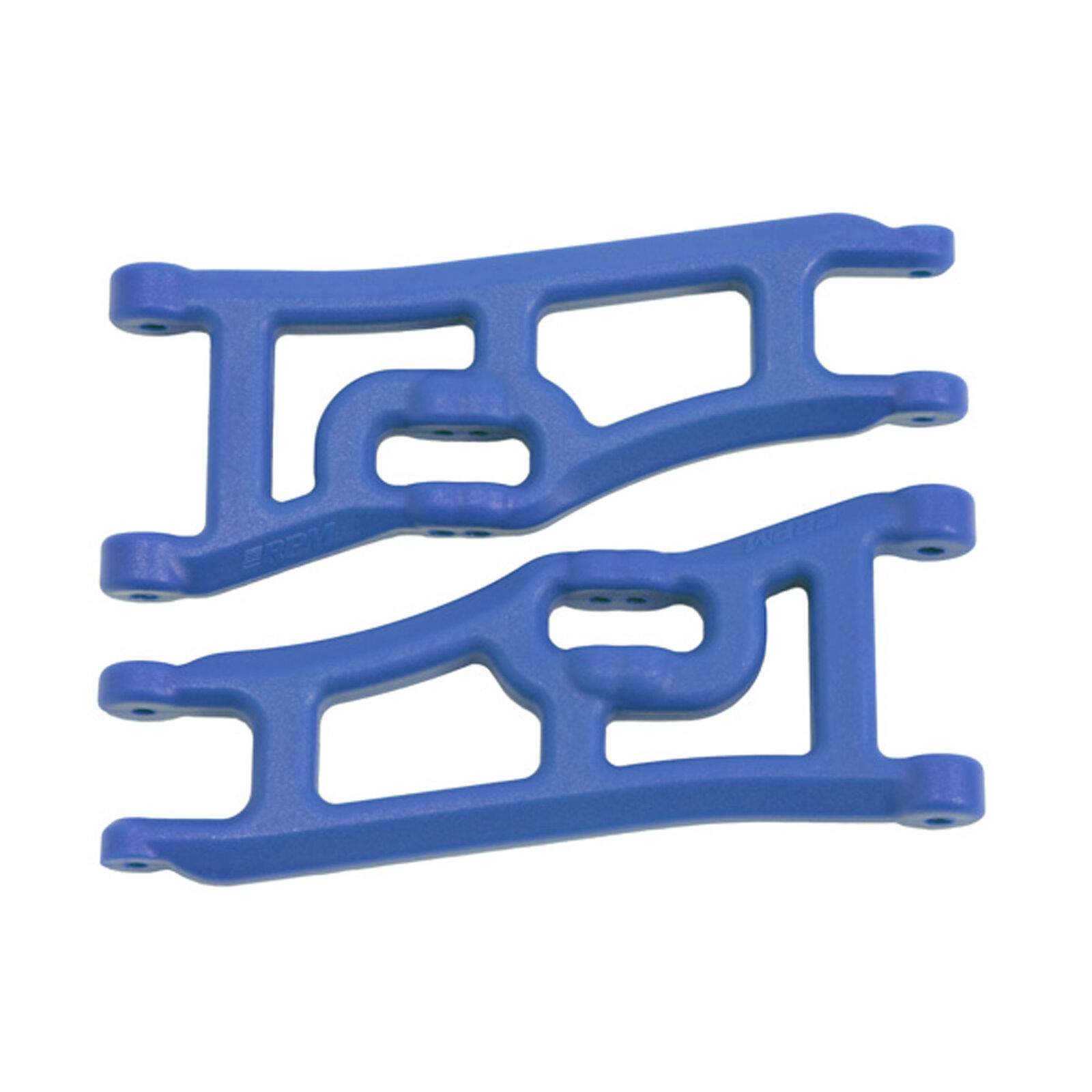 Wide Front A-Arms, Blue: Rustler, Stampede 2WD