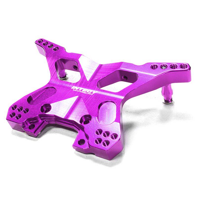 Machined Rear Shock Tower Purple: Slash 4X4