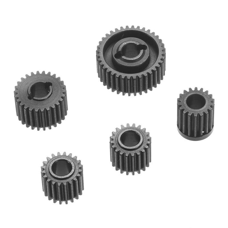 Hardened Steel Gear Set: SCX10 II