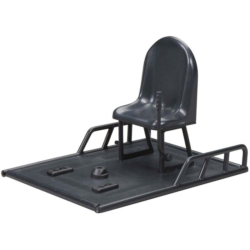 Radio Box Lid with Seat: Mini Alligator Tours