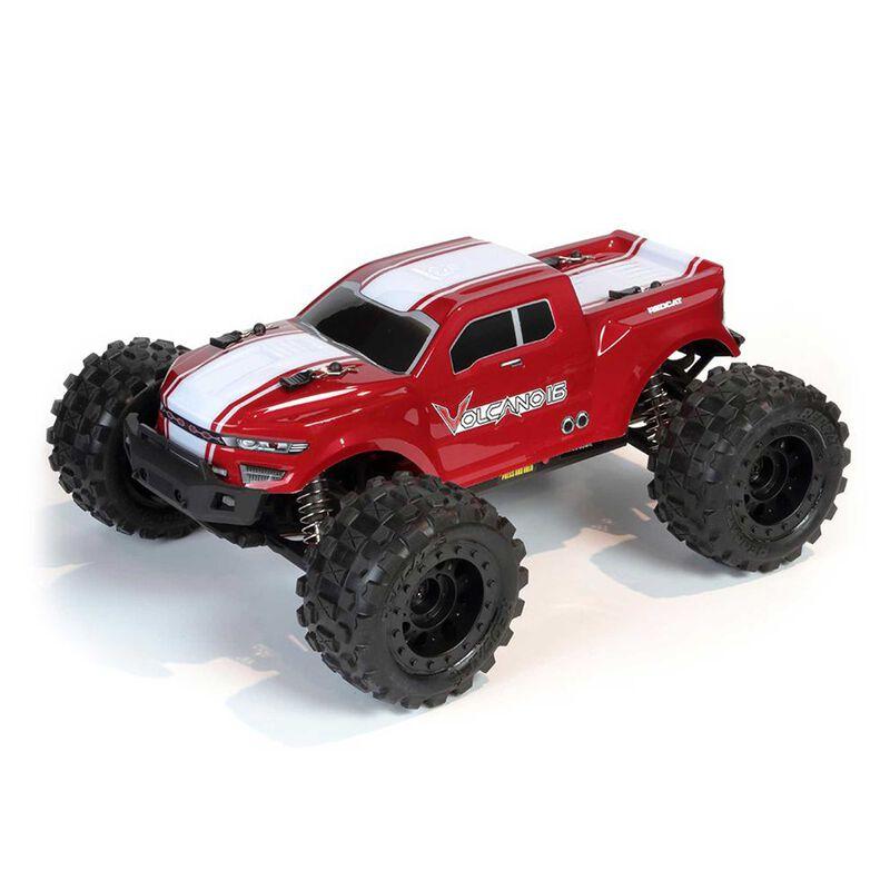 1/16 Volcano-16 Monster Truck RTR, Red