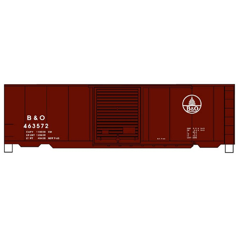 HO KIT PS-1 Steel Box B&O