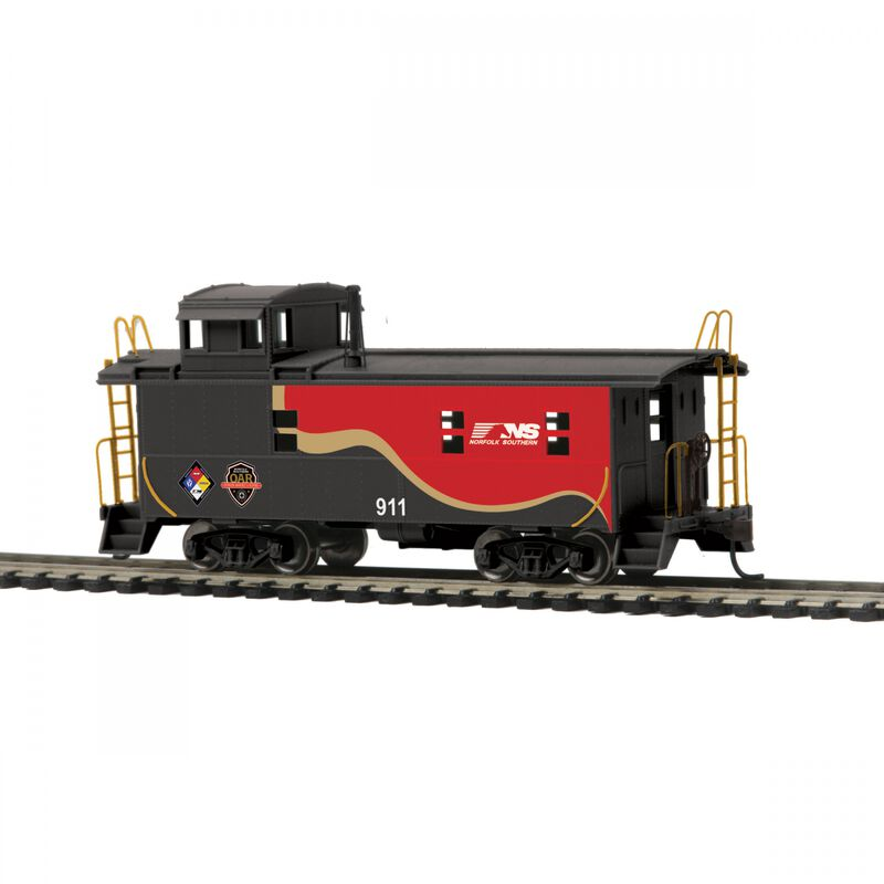 HO Steel Caboose NS First Responder