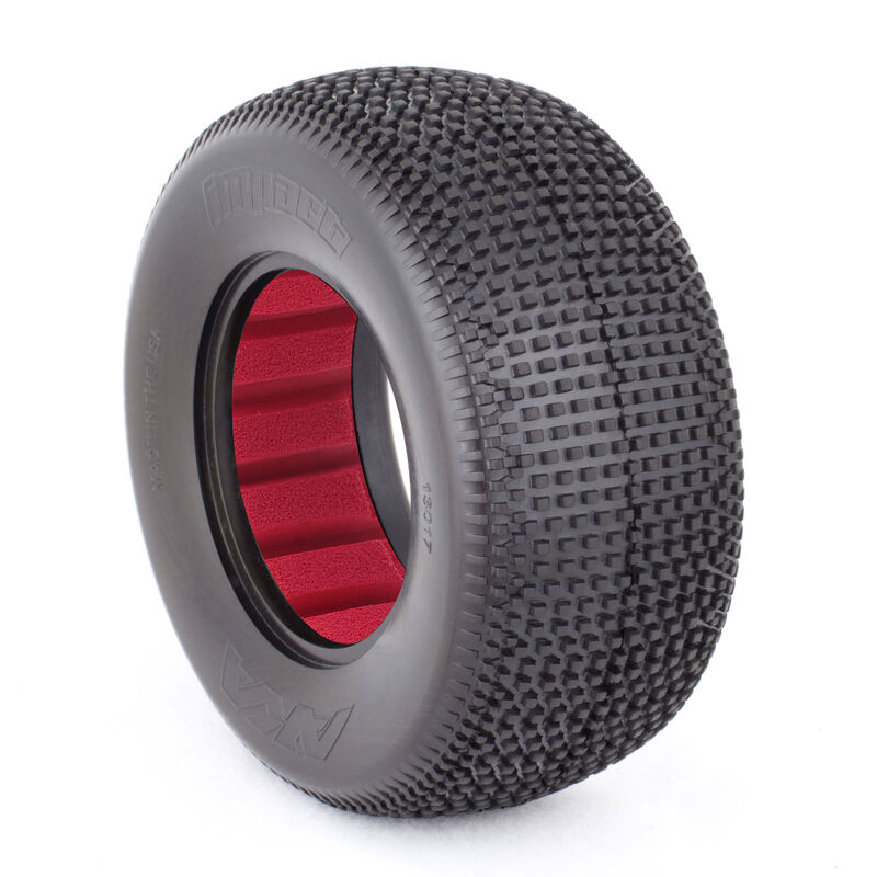 1/10 Impact SC Wide Soft Front/Rear Tire with Red Insert (2)