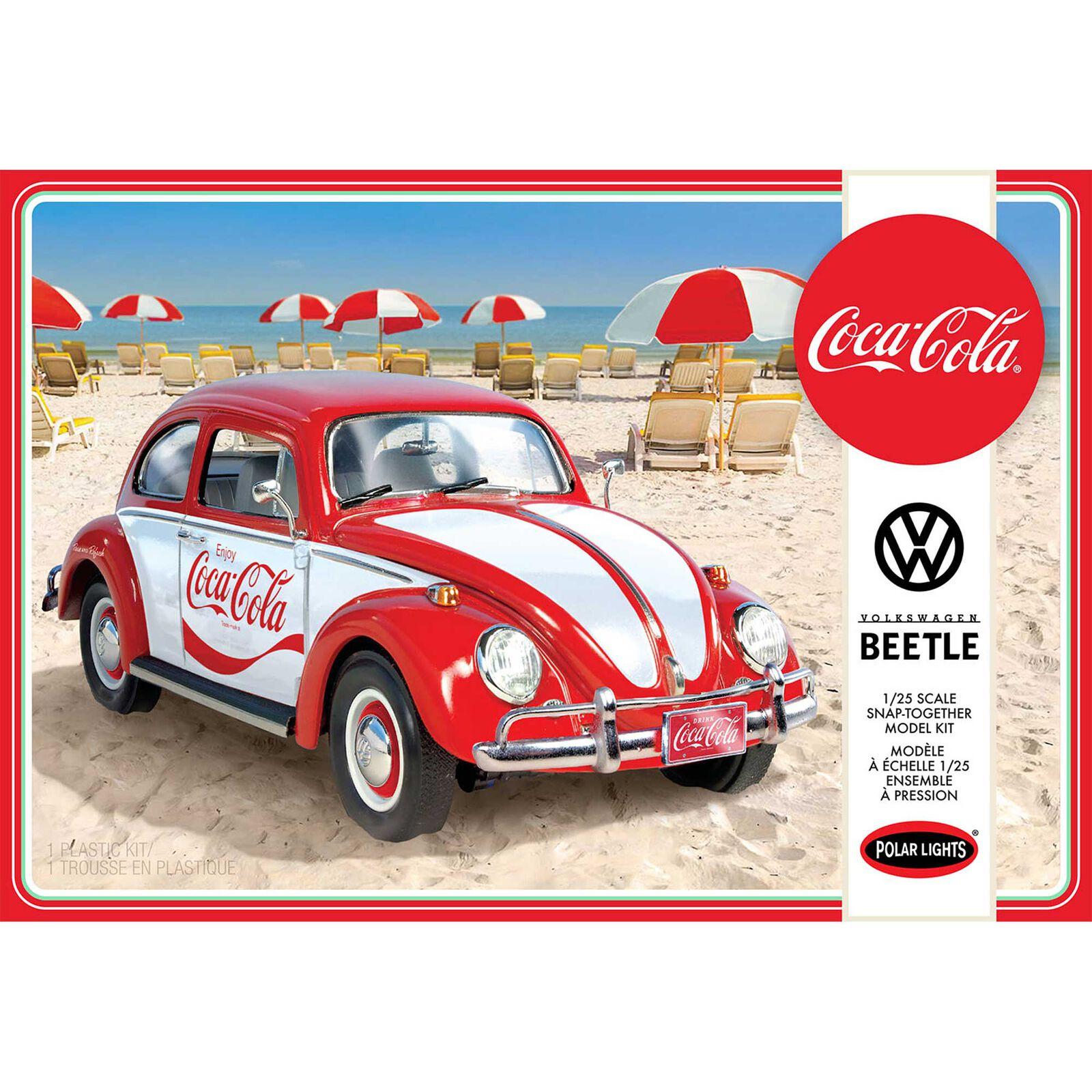 1/24 Volkswagen Beetle Coca-Cola Snap 2T