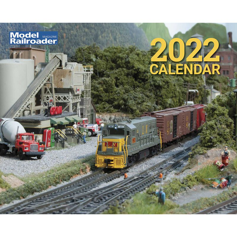 2022 Model Railroader Calendar