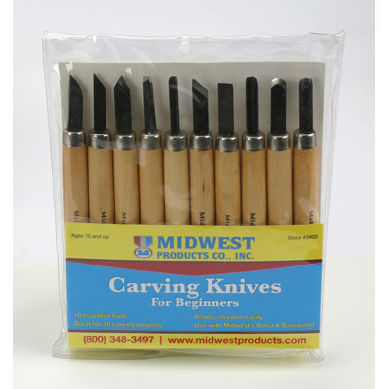 Carving Knives, 10 pc. Set