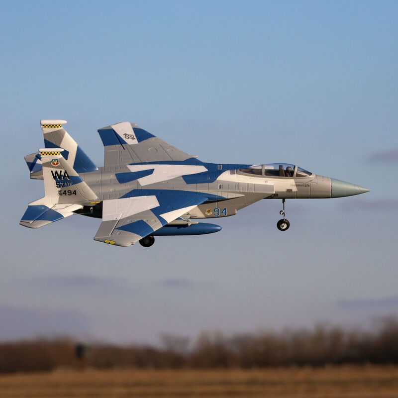 F-15 Eagle 64mm EDF BNF Basic with AS3X and SAFE Select