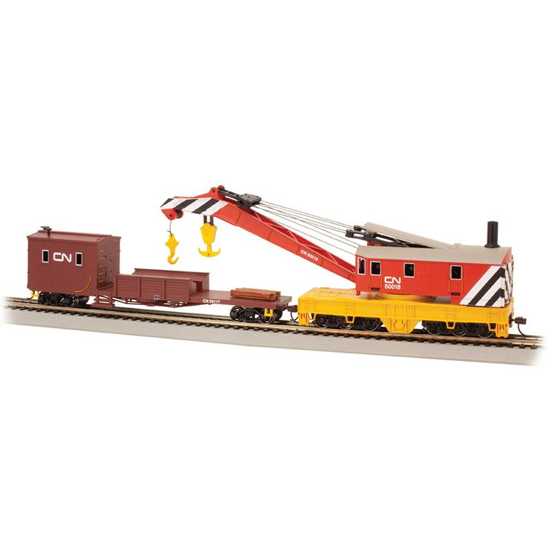 HO 250T Steam Crane Boom Tender, Canadian National