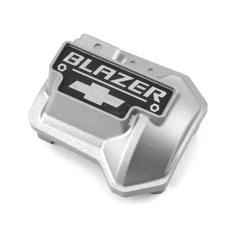 Alum Diff Cover: TRX-4 Chevy K5 Blazer, Silver