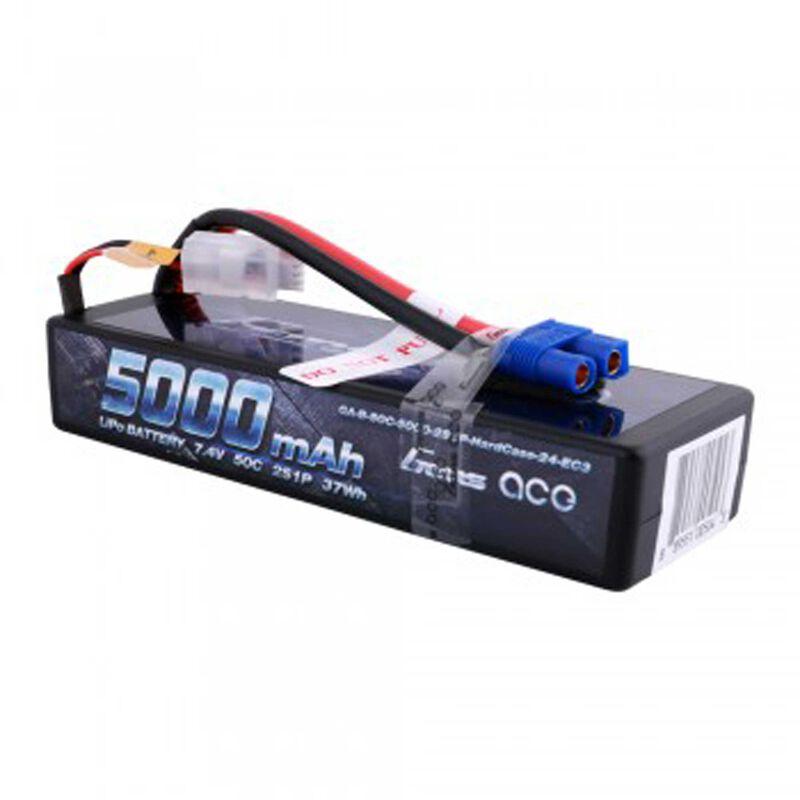 7.4V 5000 Capacity 2S Voltage 50C LiPo, EC3