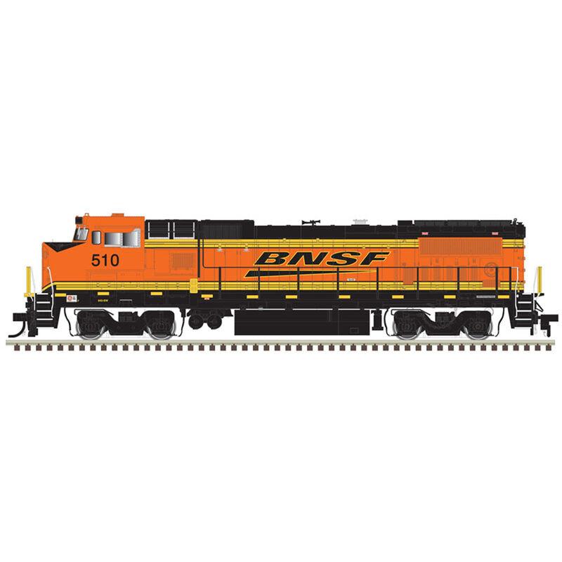 HO Dash 8-40BW w DCC & Sound BNSF #510