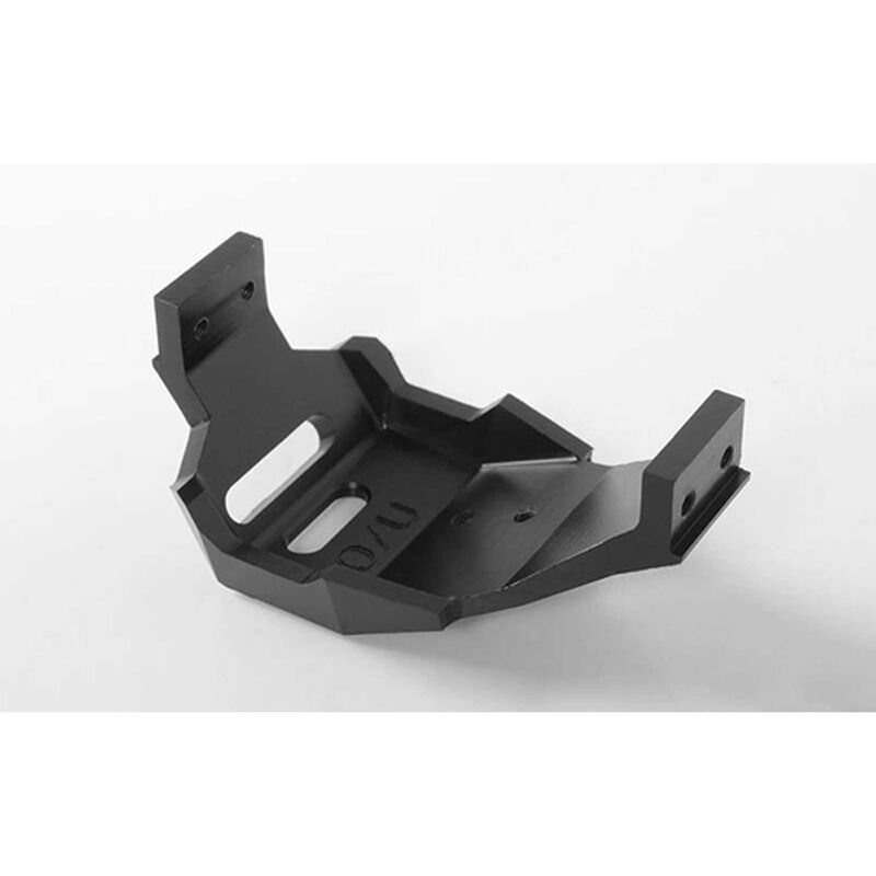 Over/Under Drive T-Case Low Profile Delrin Skid Plate: TF2 SWB