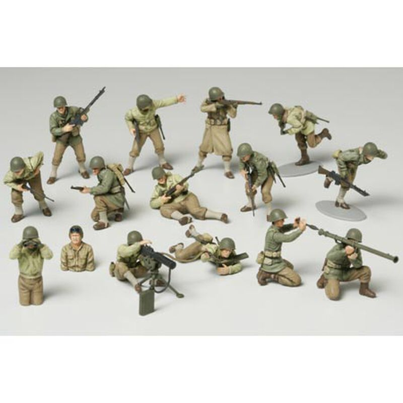 1/48 WWII US Army GI Set