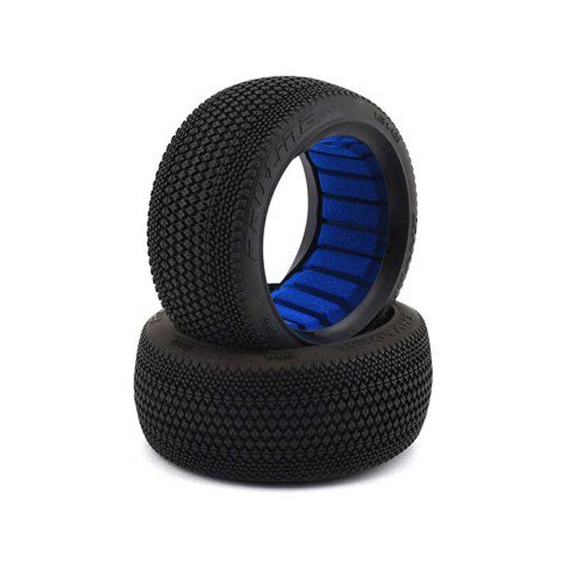 Invader M3 Off-Road 1/8 Buggy Tires, F/R (2)