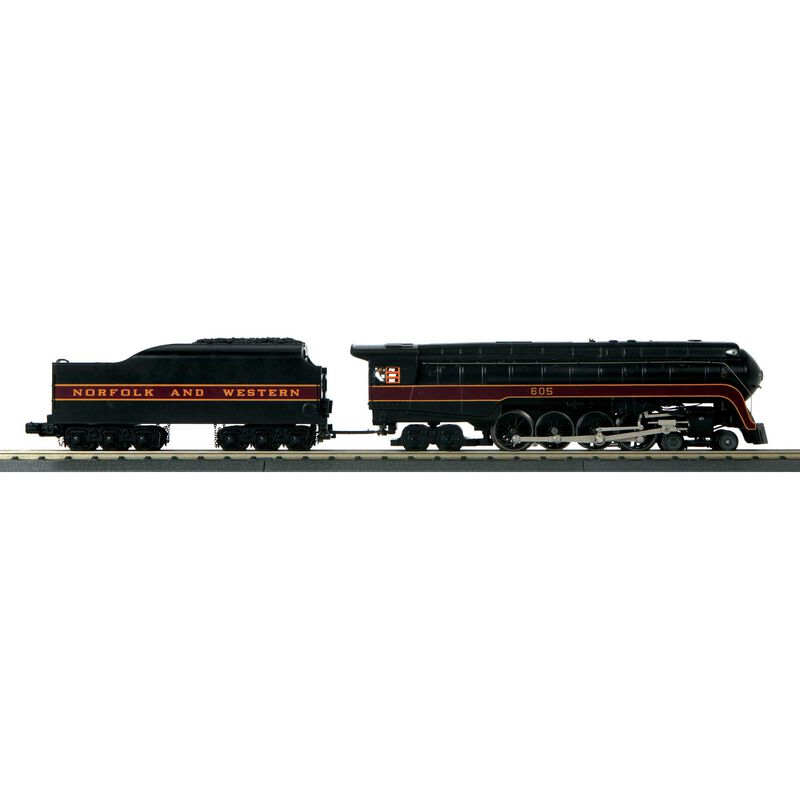 O-27 Imperial 4-8-4 J with PS3 N&W #605