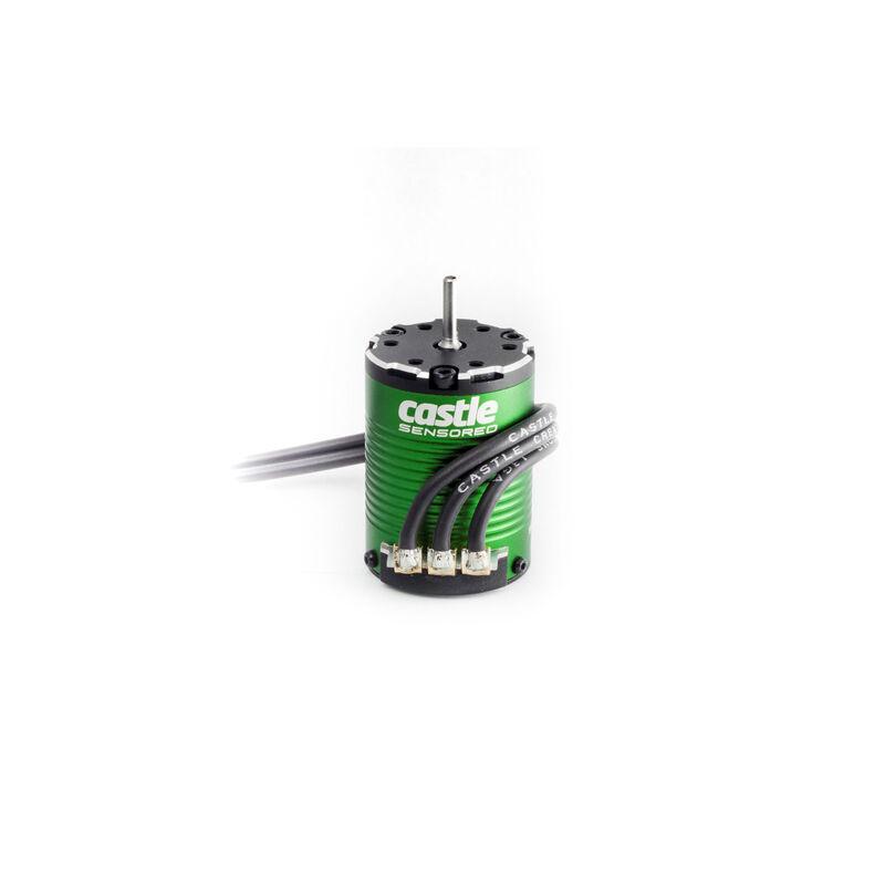 1/10 4-Pole Sensored Brushless Motor, 1406-4600Kv: 4mm Bullet
