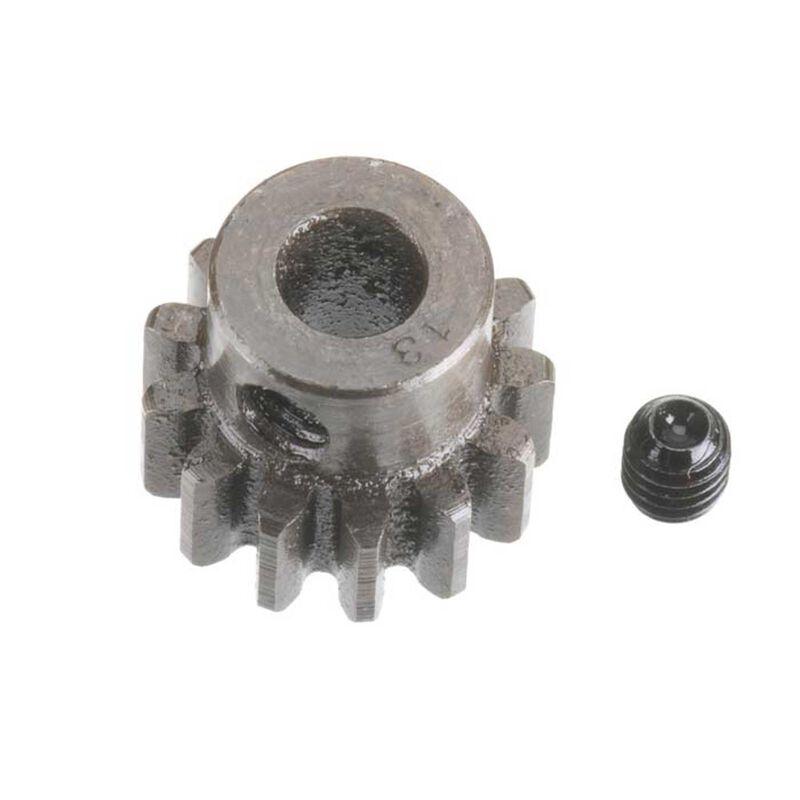 Extra Hard Steel 5mm Bore 1 Module Pinion, 13T