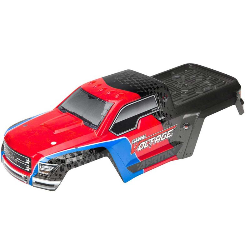 Painted Body with Decals, Red/Black: Granite Voltage