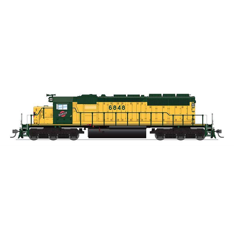 HO SD40-2/Paragon4/DC/DCC, CNWS #6867