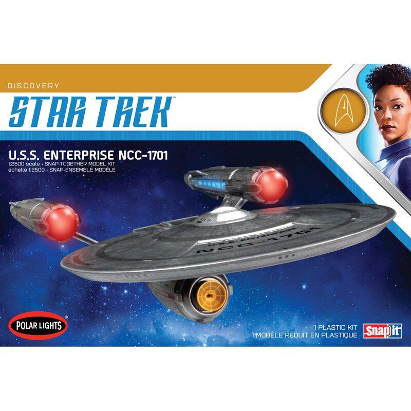 1/2500 Star Trek Discovery USS Enterprise Snap