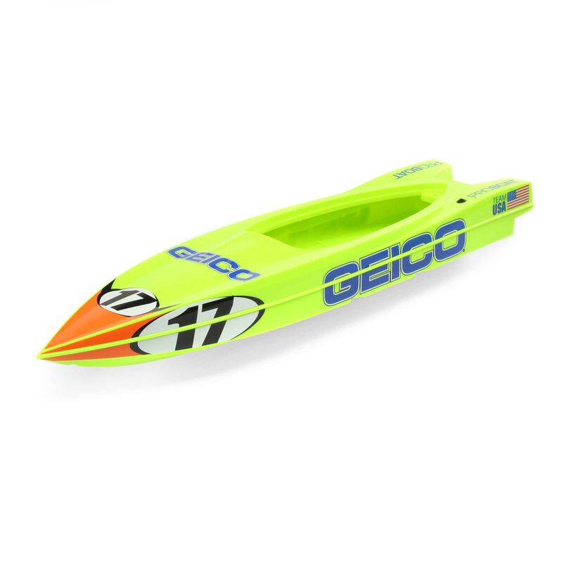 Hull: Miss Geico 17-inch Power Boat Racer