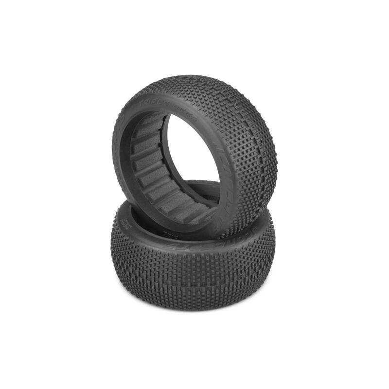 1/8 Triple Dees Tire, Blue Soft Compound, 83mm: Buggy (2)