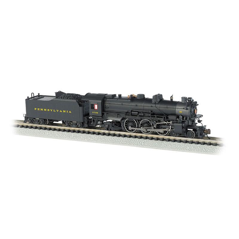 N K4 4-6-2 w/DCC & Sound Value, PRR/Post-War #3750