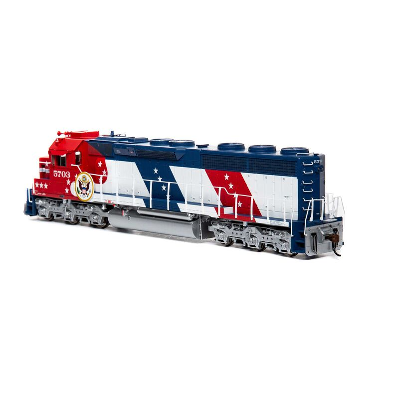 HO SD45-2 with DCC & Sound SF Bicentennial #5703