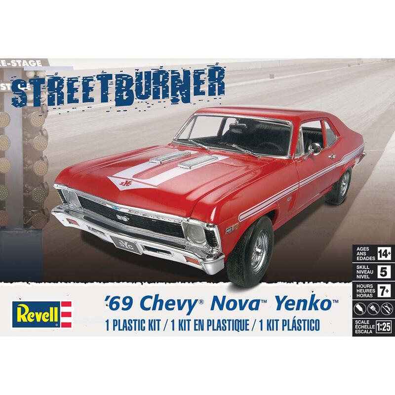 1 25 '69 Chevy Nova Yenko