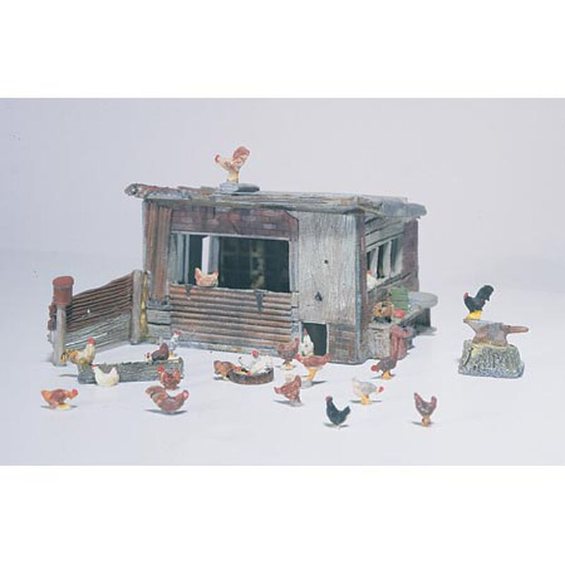 HO Chicken Coop