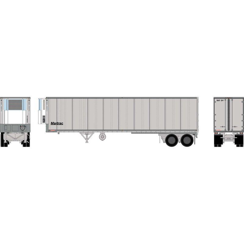 HO RTR 40' Fruehauf Z-Van Trailer, MAR #5041