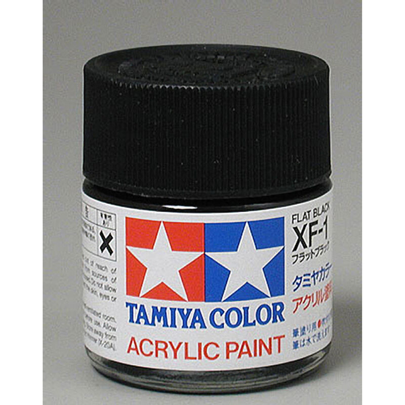 Acrylic XF1 Flat Black