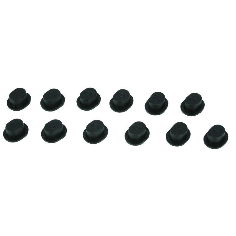 Replacement Inserts, Adj FR Hinge Pin Holder: TEN