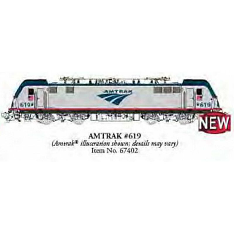 HO ACS-64 w Sound Value Amtrak #619